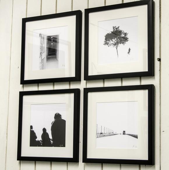 Ferdig på veggen (foto: Per Sibe)
